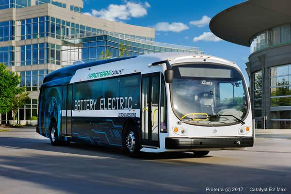 Autobus elettrico Proterra Catalyst E2 Max